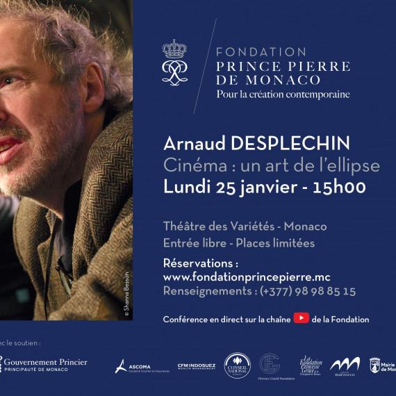 [CONFÉRENCE] : Cinéma : un art de l'ellipse, Arnaud Desplechin