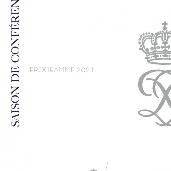 Saison des conférences 2021 de la Fondation Prince Pierre